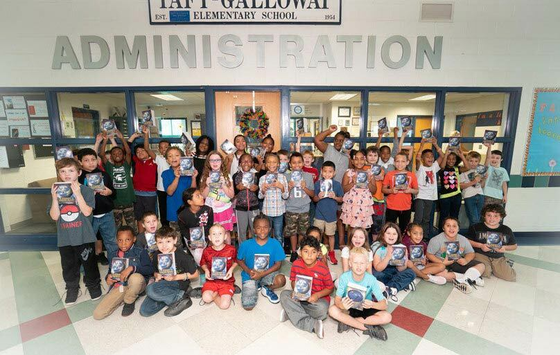 Our Elementary Schools have 'Dictionary Day' where each student gets a special dictionary to bring home