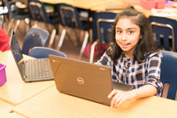 2017 Hoover Overview 31 Girl on Chromebook