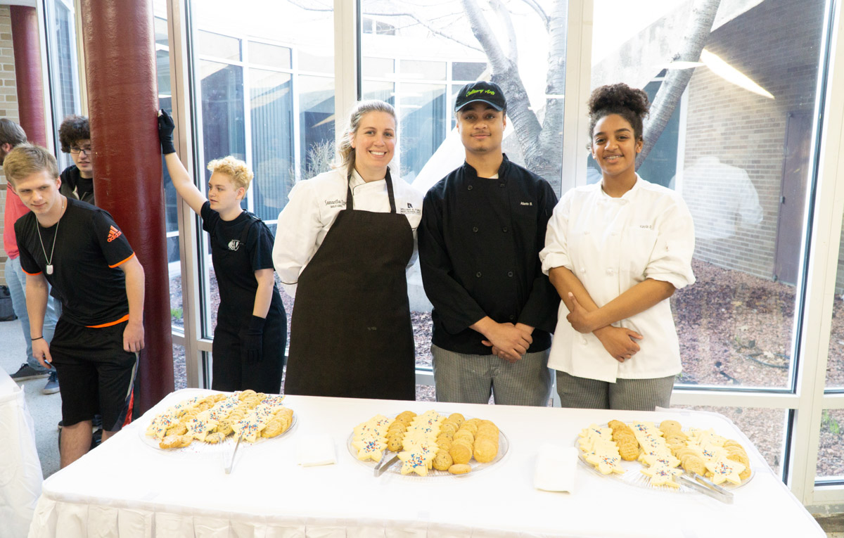 20180411 - State of the District - WDFCTC Culinary students