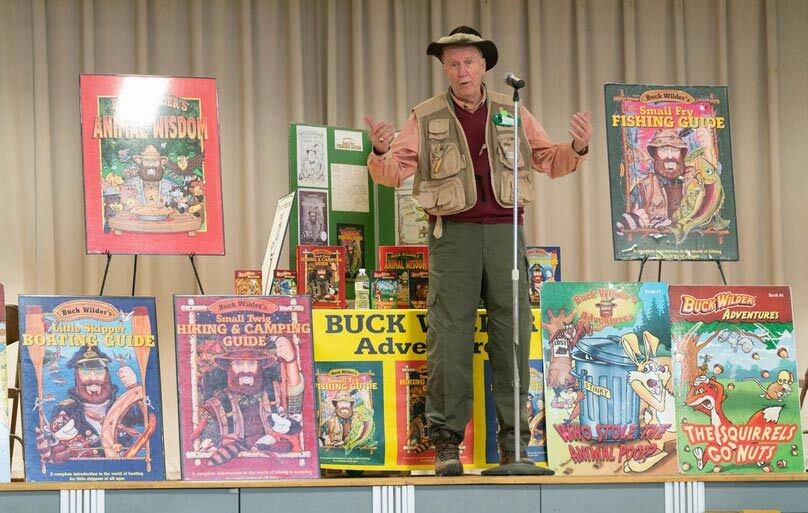 Author Buck Wilder