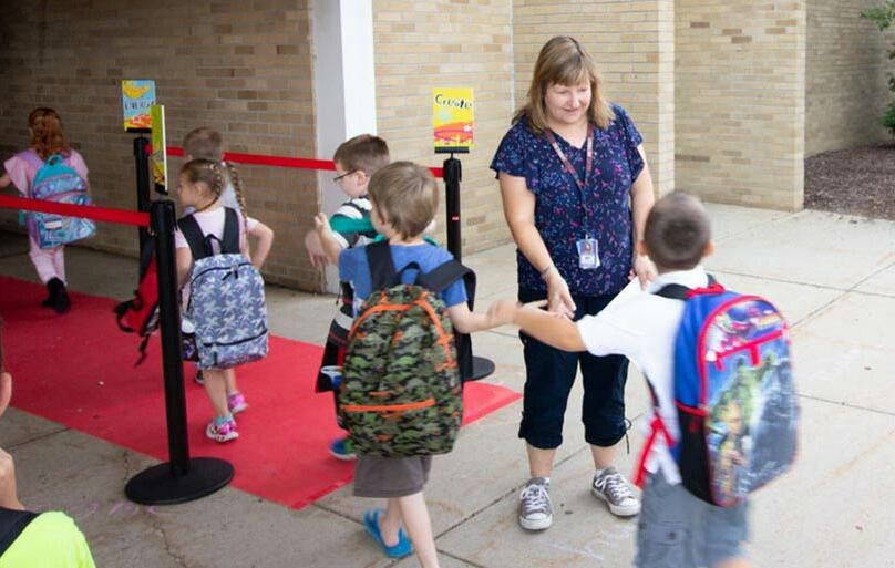 First Day of School at Walker-Winter Elementary