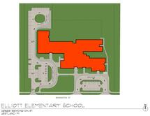 Elliott Elementary School Traffic Flow Map