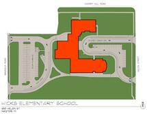 Hicks Elementary School Traffic Flow Map