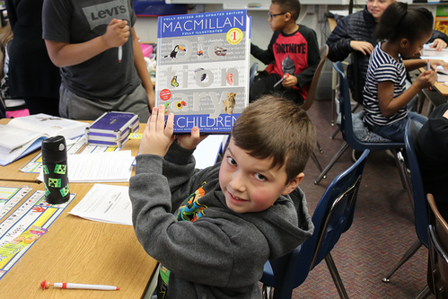 Wayne Rotary Donates Dictionaries
