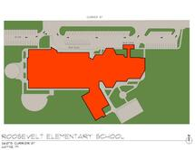 Roosevelt-McGrath Elementary School Traffic Flow Map
