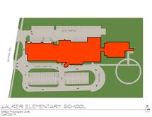Walker-Winter Elementary Traffic Flow Map