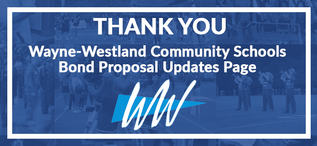 WWCSD Bond Update Information