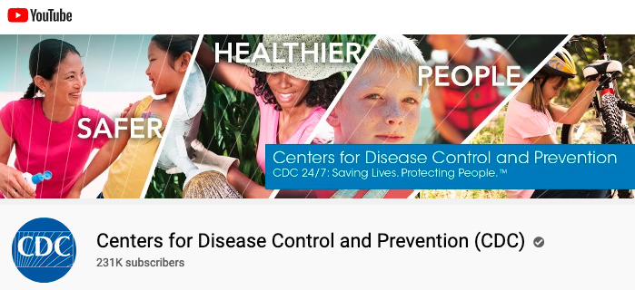 CDC YouTube Channel