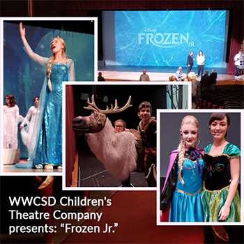 WWCSD Children's Theater  performance of Disney Frozen Jr.