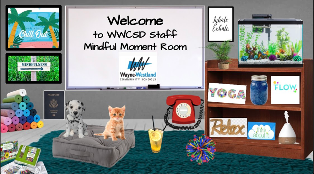 Welcome to the WWCS Mindful Moment Room