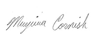 Muyiwa Cornish's Signature