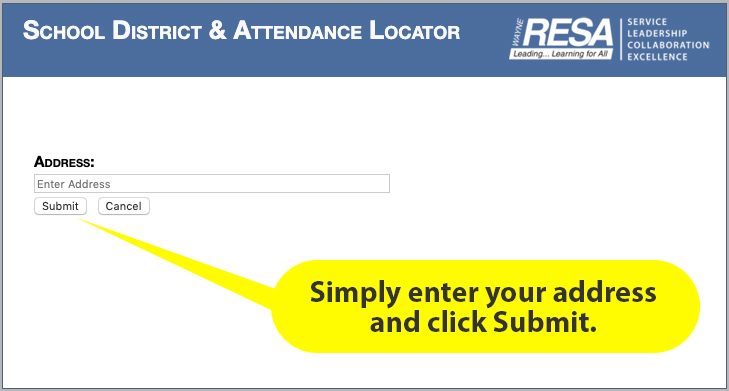 School District & Attendance Locator