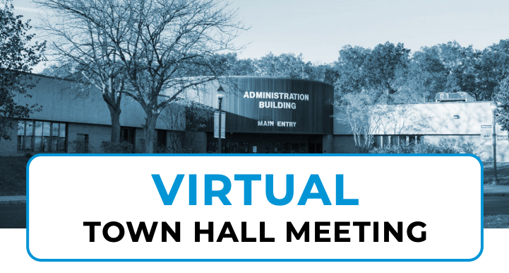 Virtual Town Hall Meeting Flyer