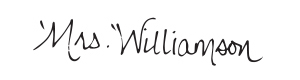 Stacy Williamson's Signature