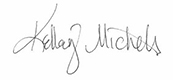 Kelley Michels' Signature