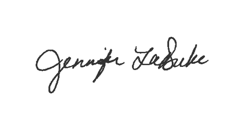 Jennifer LaDuke's Signature