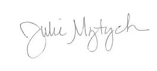 Julie Mytych's Signature