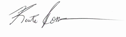 Kente Rosser's Signature