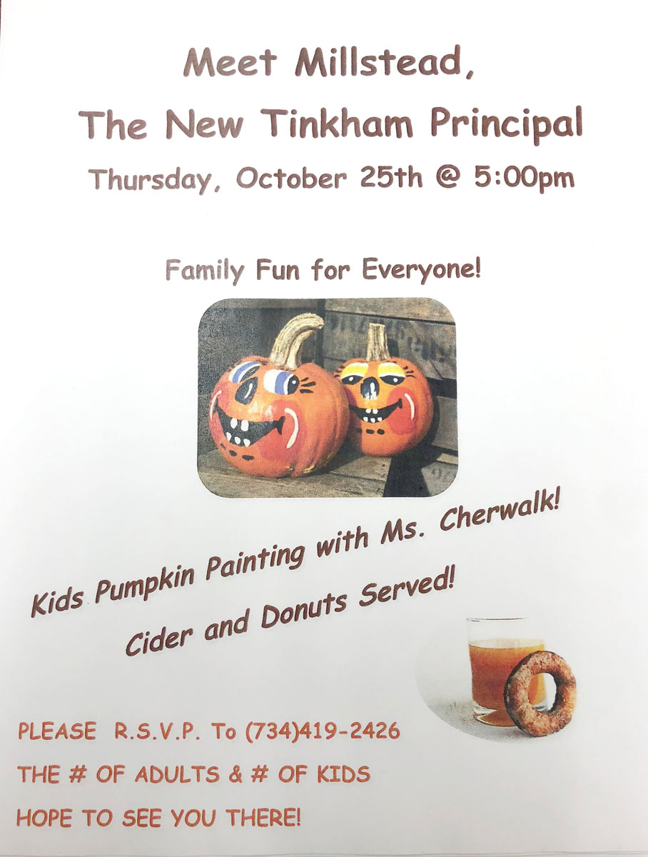 2018-10-19 - Meet Millstead New Tinkham Principal