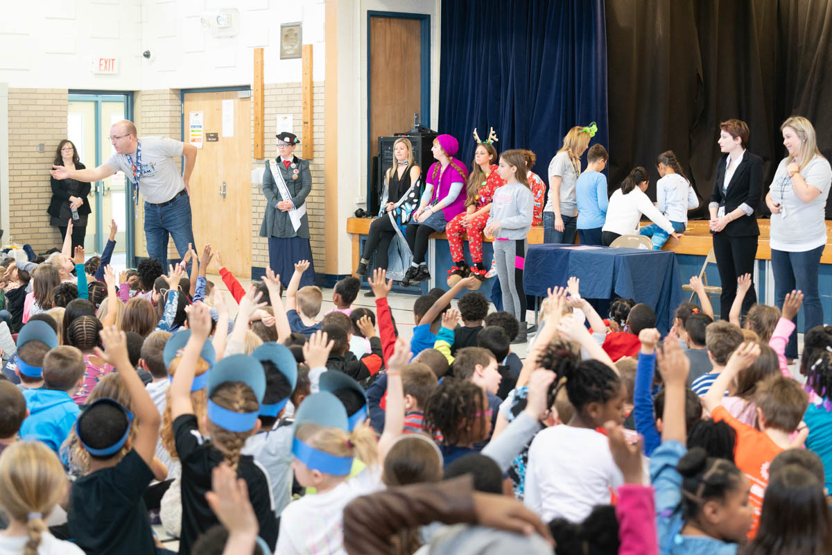 2018-11-21 - All School Assembly and Principal Chris Haircut 26