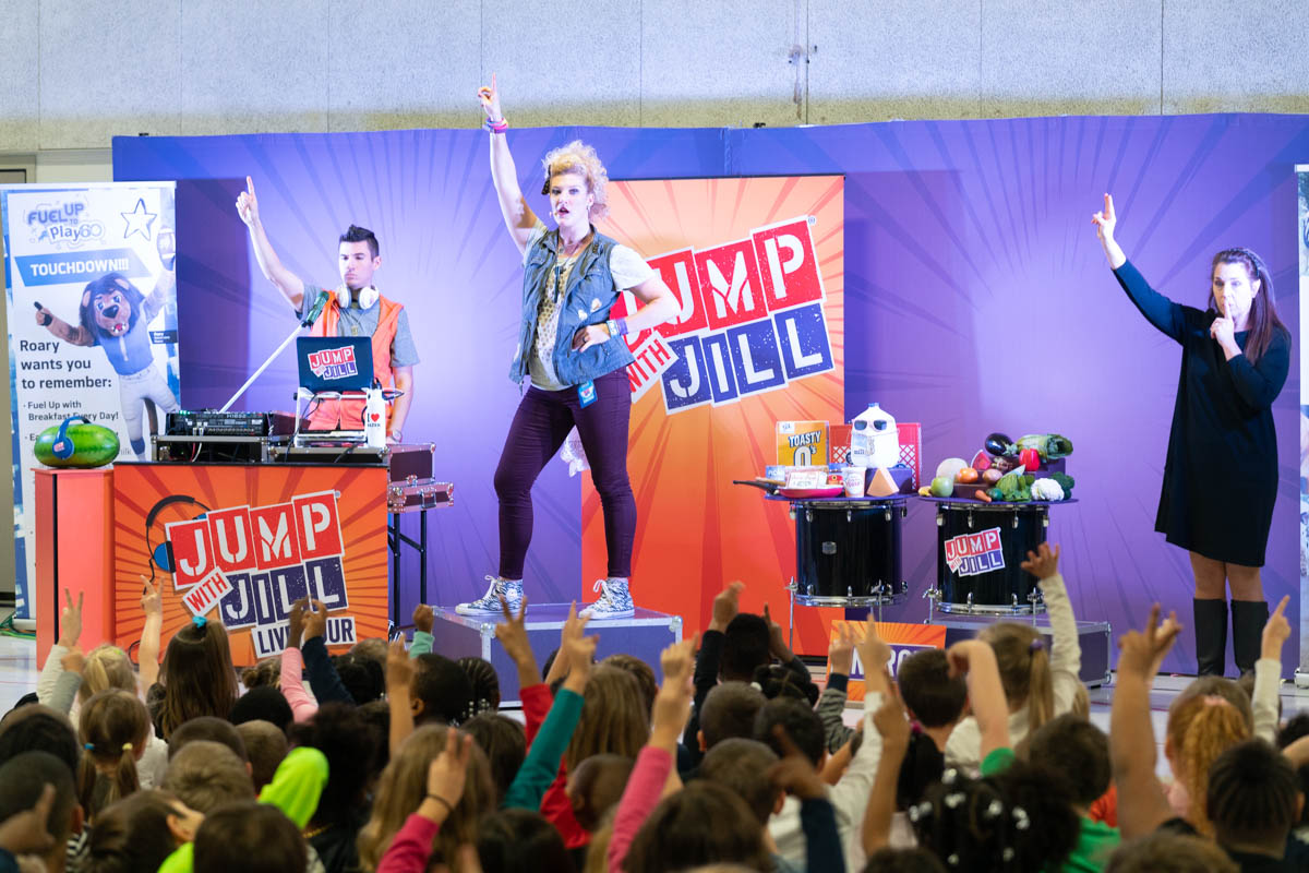 Jump with Jill Live Tour