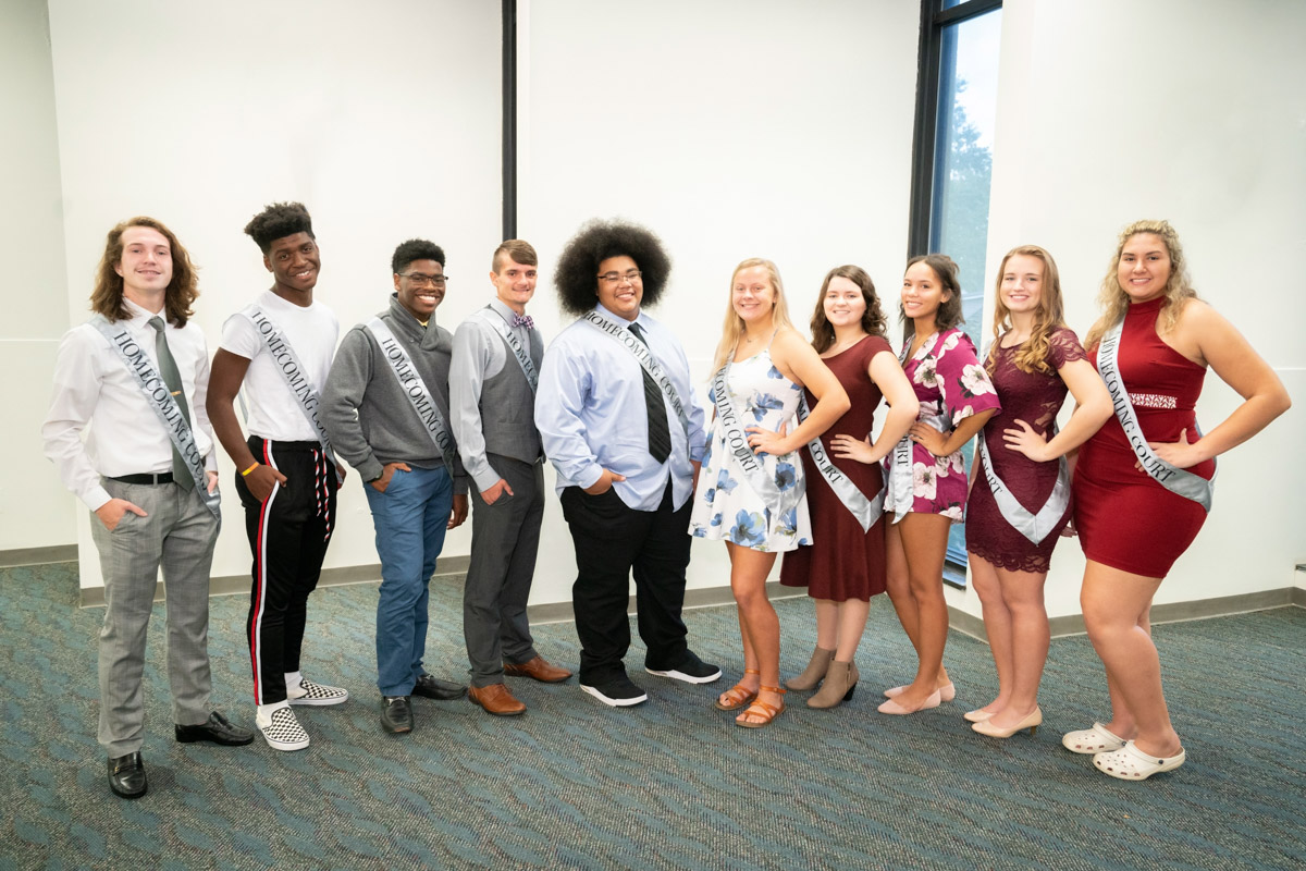 2018-19 Homecoming Court 3