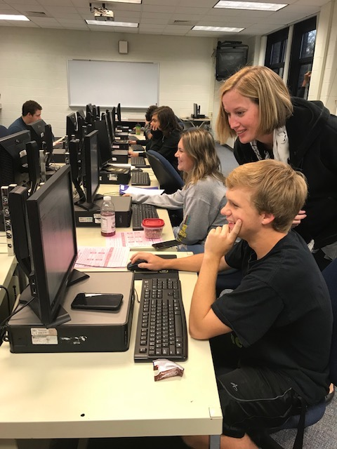 College Application Day at WMHS 2018