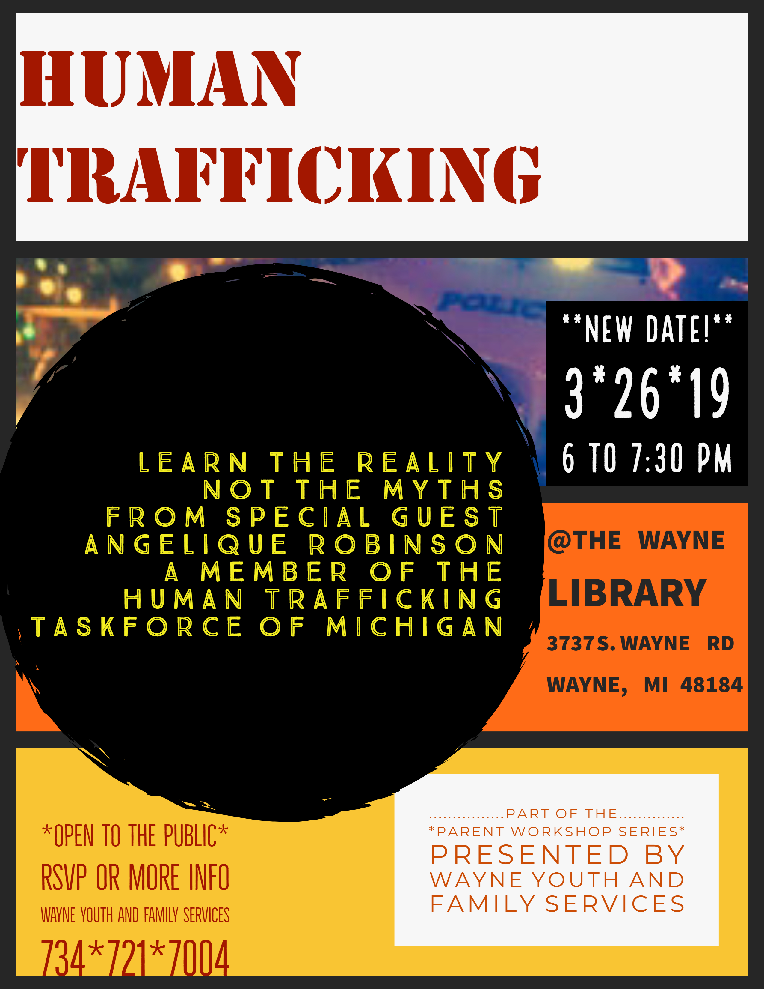 2019-03-26 - MARCH Human Trafficking