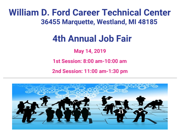 William D. Ford Career Tech 4th Annual Job Fair