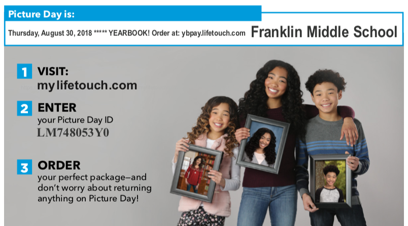 Franklin 2018-19 Picture Day Ad