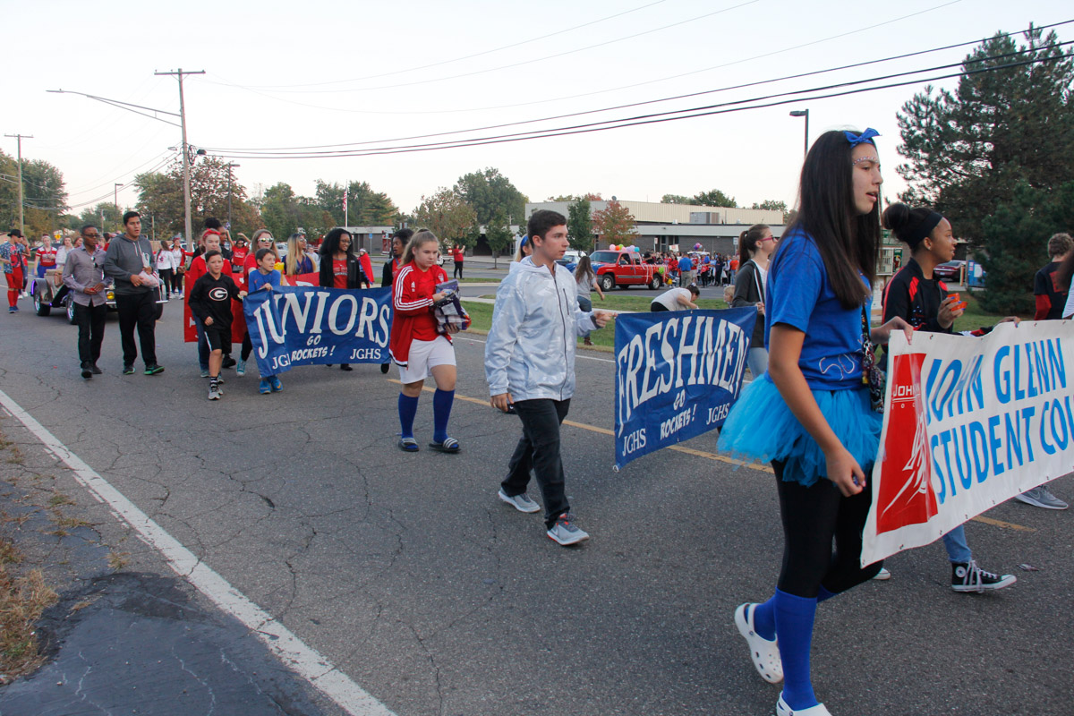 JGHS Homecoming Parade