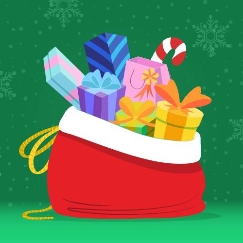 Christmas-toy-background