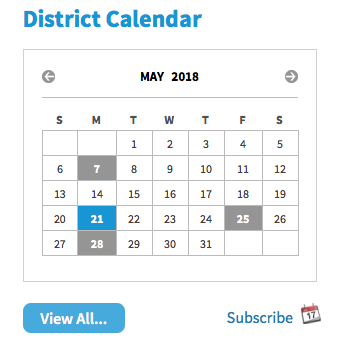 district calendar example