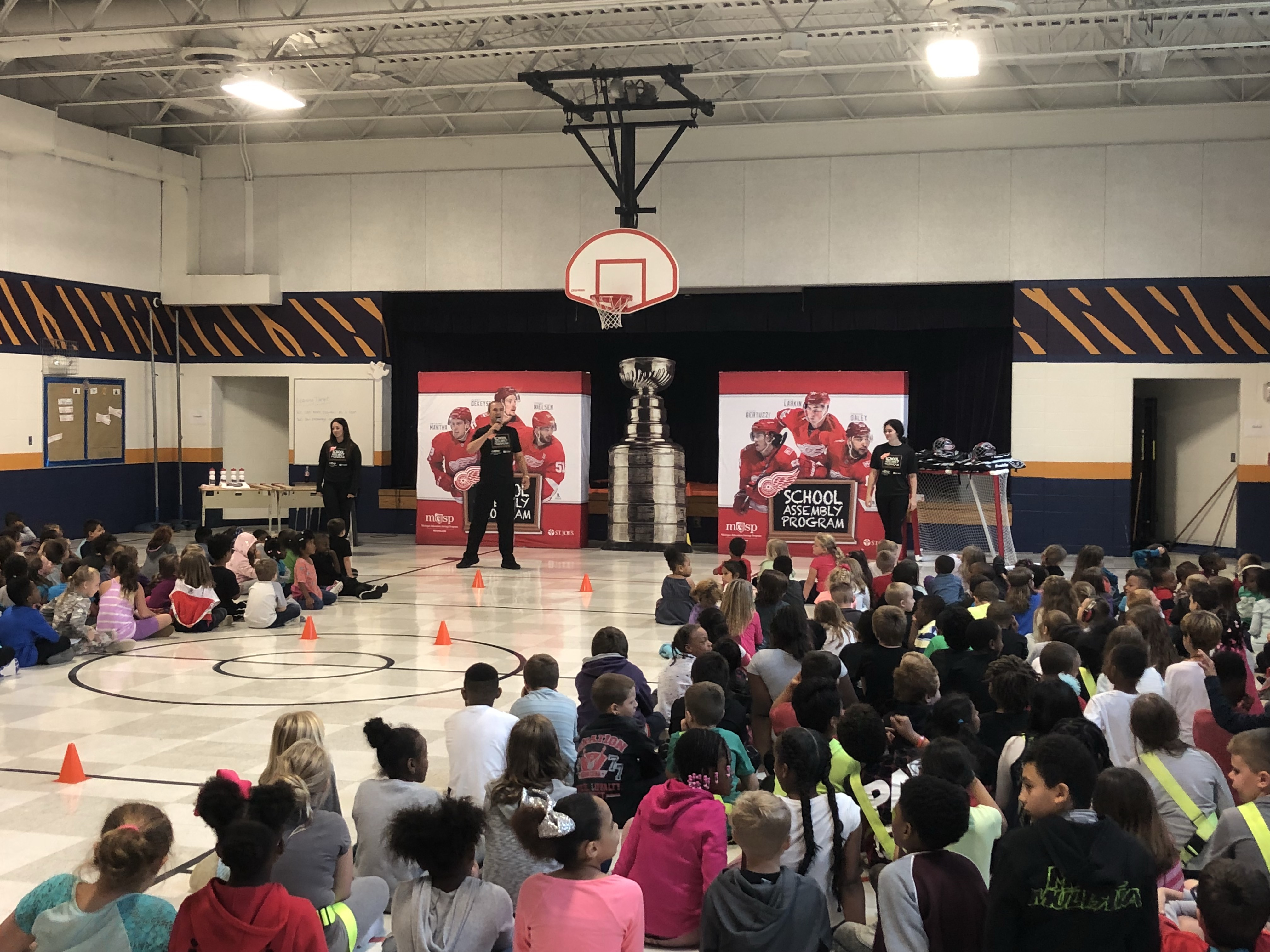 Taft Redwings Assembly Program