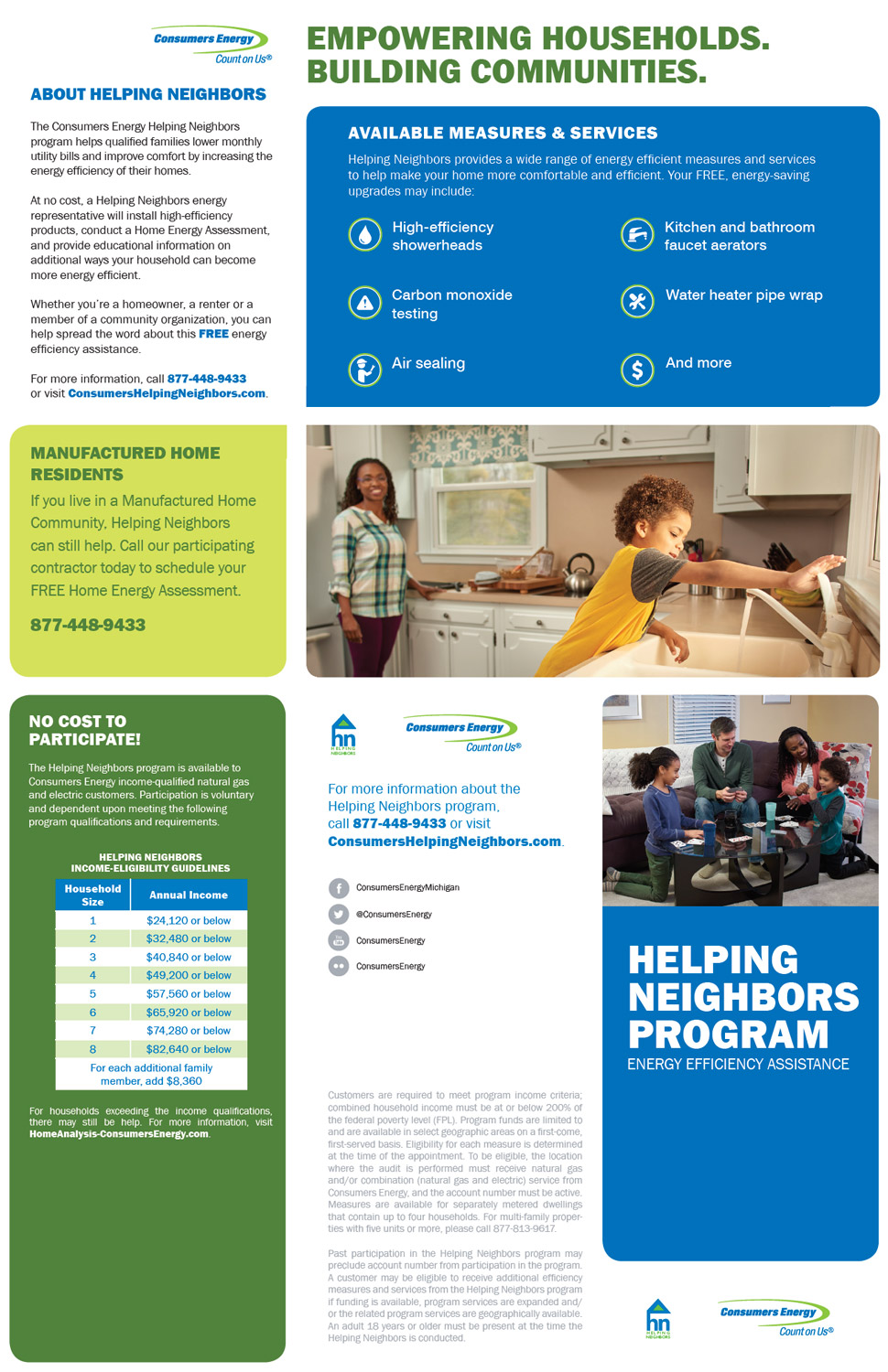 Helping Neighbors Program - Consumers Energy